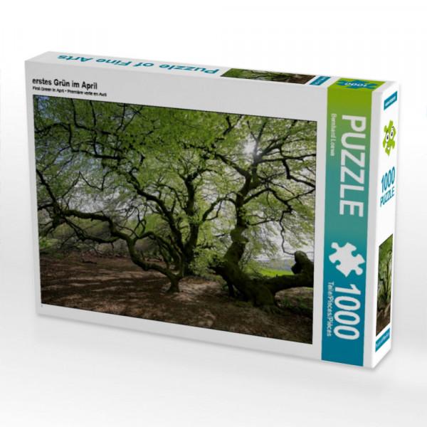 Puzzle Erstes Grün im April
