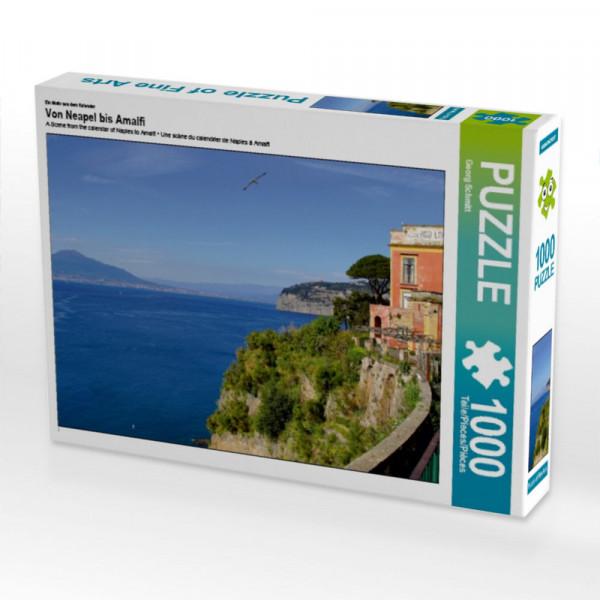 Puzzle Von Neapel bis Amalfi