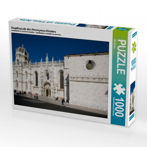 Puzzle Hauptfaasade des Hieronymus-Klosters