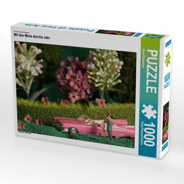 Puzzle Mit den Minis durchs Jahr