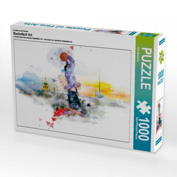 Puzzle Basketball Art