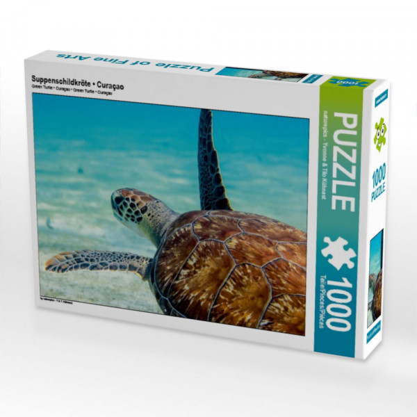 Puzzle Suppenschildkröte • Curaçao