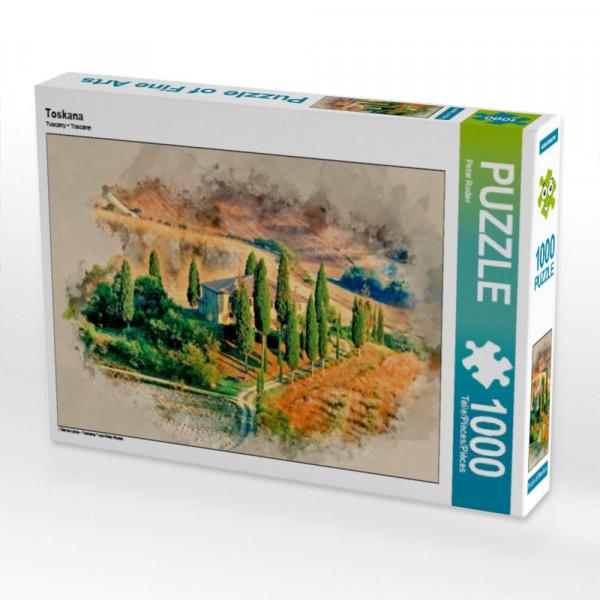 Puzzle Toskana