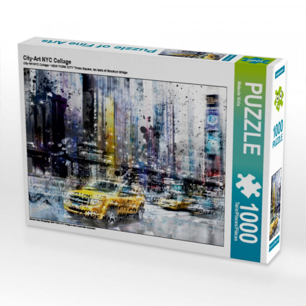 Puzzle City-Art NYC Collage
