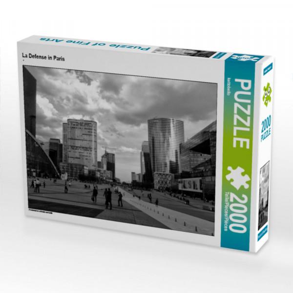 Puzzle La Defense in Paris Foto-Puzzle Bild von