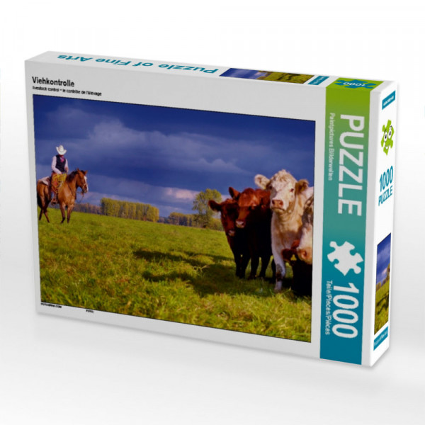 Puzzle Viehkontrolle