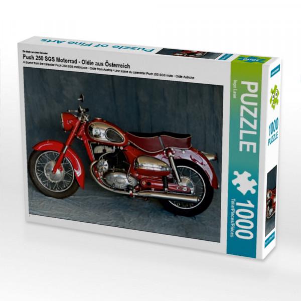 Puzzle Puch 250 SGS Motorrad - Oldie aus Österreich