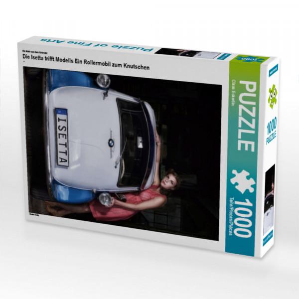 Puzzle Die Isetta trifft Modells Ein Rollermobil zum Knutschen