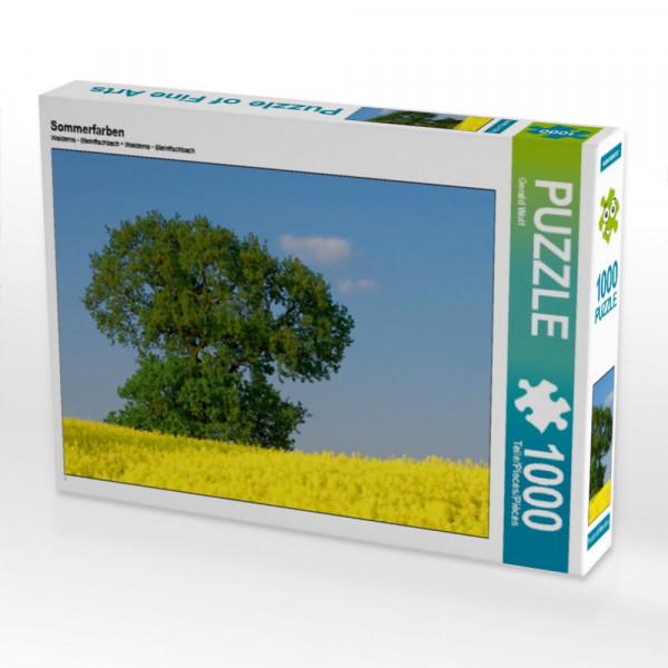 Puzzle Sommerfarben