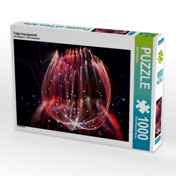 Puzzle Tulpe transparent
