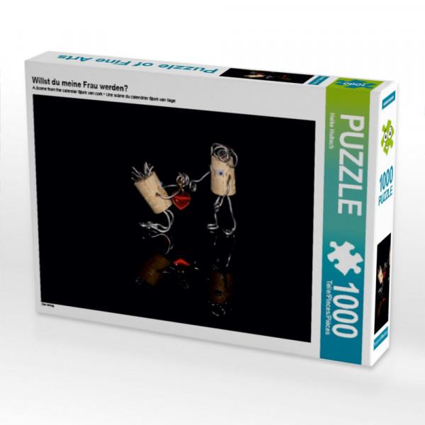 Puzzle Willst du meine Frau werdene