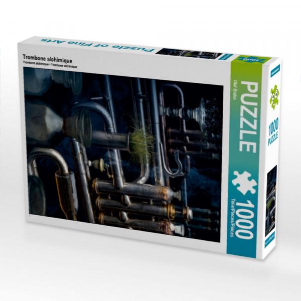 Puzzle Trombone alchimique