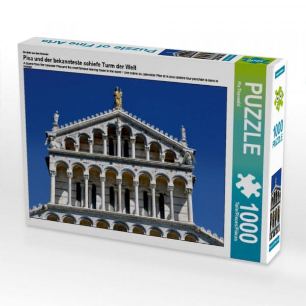 Puzzle Pisa und der bekannteste schiefe Turm der Welt