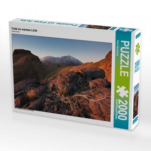 Puzzle Teide im warmen Licht Foto-Puzzle Bild von Rosenberg Raico