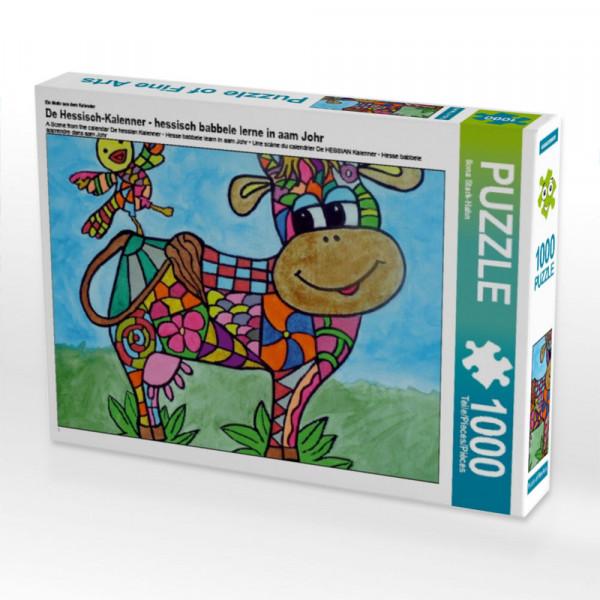 Puzzle De Hessisch-Kalenner - hessisch babbele lerne in aam Johr