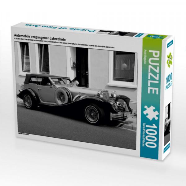 Puzzle Automobile vergangener Jahrzehnte