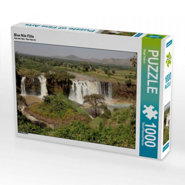 Puzzle Blue Nile Fälle