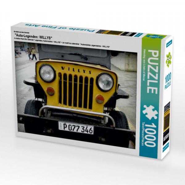 Puzzle Auto-Legenden: WILLYS