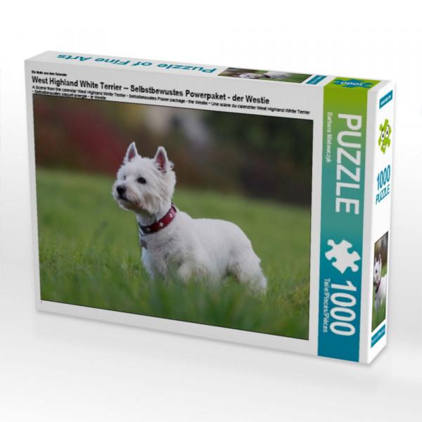 Puzzle West Highland White Terrier -- Selbstbewustes Powerpaket - der Westie