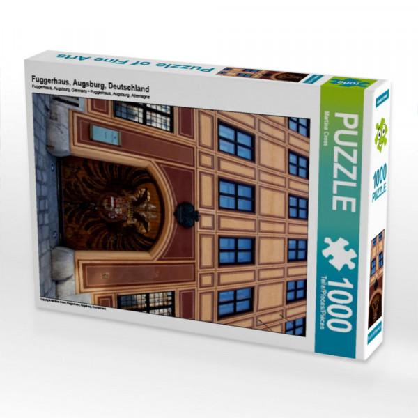 Puzzle Fuggerhaus Augsburg Deutschland