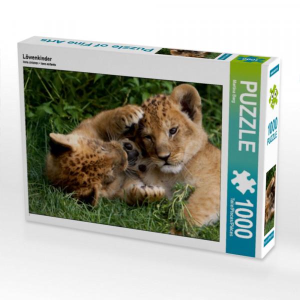 Puzzle Löwenkinder