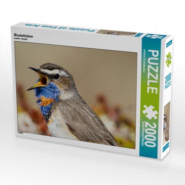 Puzzle Blaukehlchen Foto-Puzzle Bild von Schörkhuber Johann