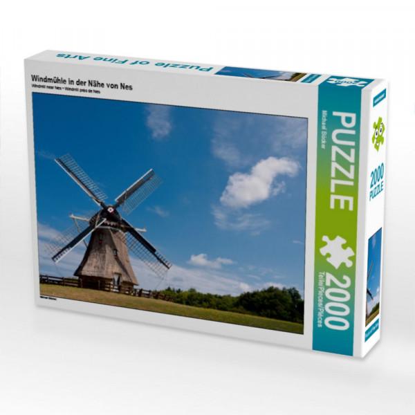 Puzzle Windmühle in der Nähe von Nes Foto-Puzzle Bild von Bücker Michael