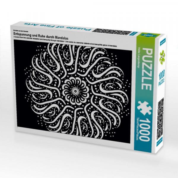Puzzle Entspannung und Ruhe durch Mandalas