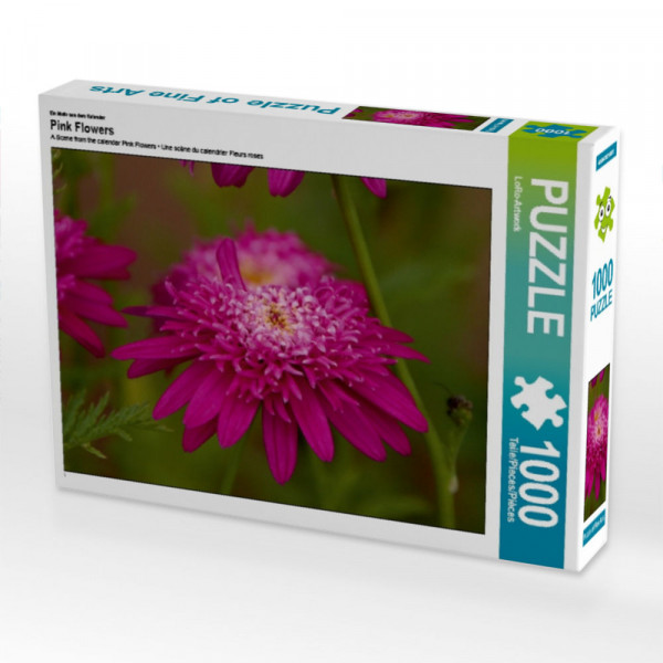 Puzzle Pink Flowers