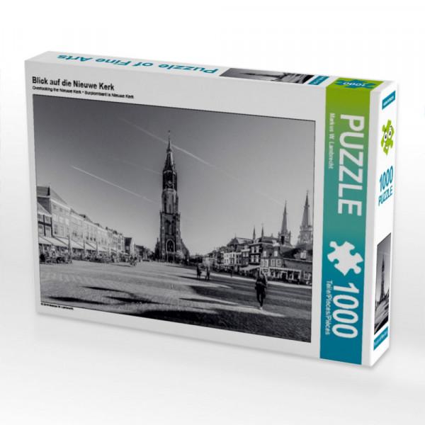 Puzzle Blick auf die Nieuwe Kerk