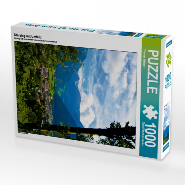 Puzzle Sterzing mit Umfeld