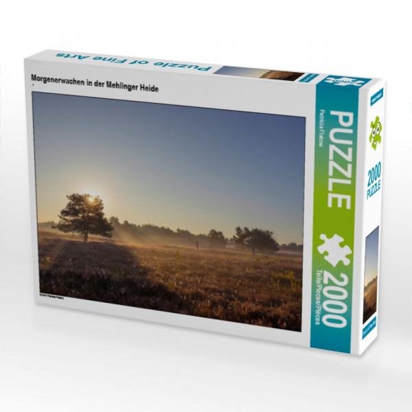 Puzzle Morgenerwachen in der Mehlinger Heide Foto-Puzzle Bild von Flatow Patricia