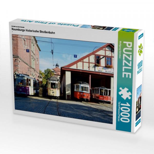 Puzzle Naumburgs historische Straßenbahn