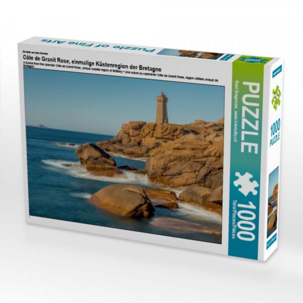 Puzzle Côte de Granit Rose einmalige Küstenregion der Bretagne