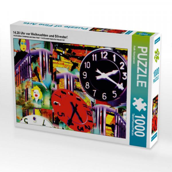Puzzle 14.20 Uhr vor Weihnachten und Silvester!