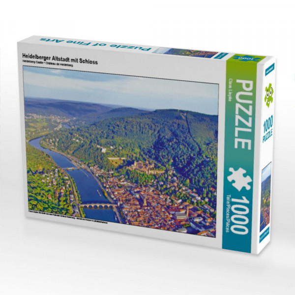Puzzle Heidelberger Altstadt mit Schloss