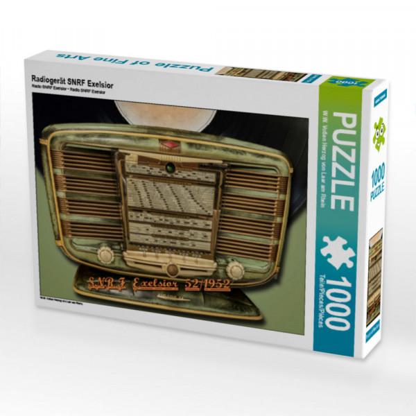 Puzzle Radiogerät SNRF Exelsior
