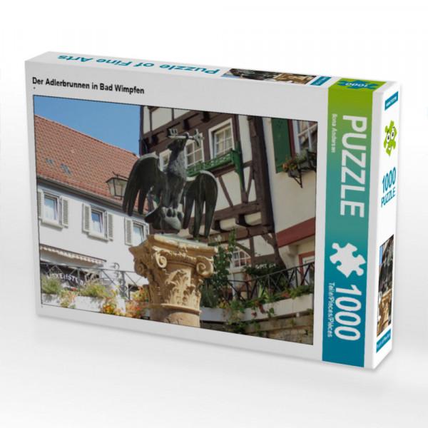 Puzzle Der Adlerbrunnen in Bad Wimpfen
