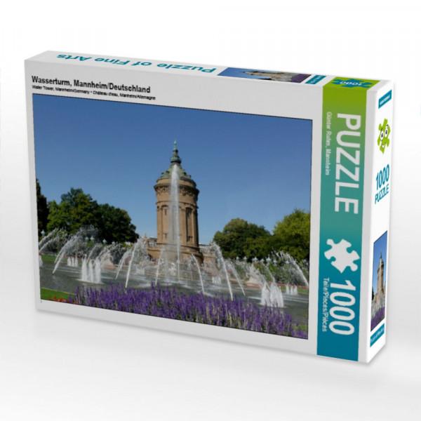 Puzzle Wasserturm Mannheim/Deutschland