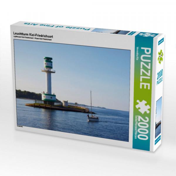 Puzzle Leuchtturm Kiel-Friedrichsort Foto-Puzzle Bild von Rix Veronika