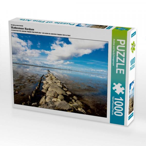 Puzzle Steine im Watt