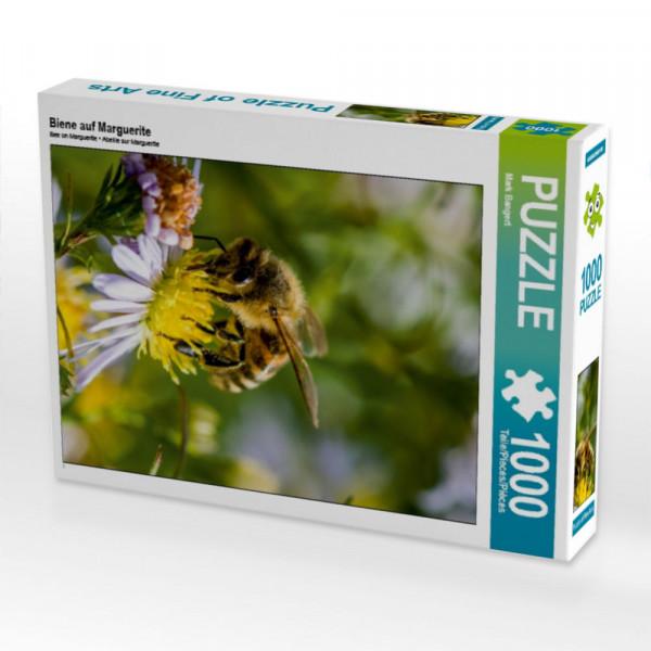 Puzzle Biene auf Marguerite