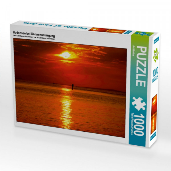 Puzzle Bodensee bei Sonnenuntergang