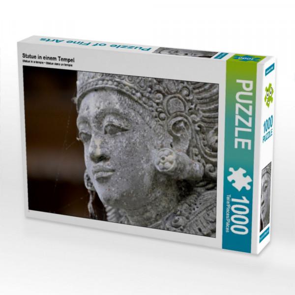 Puzzle Statue in einem Tempel