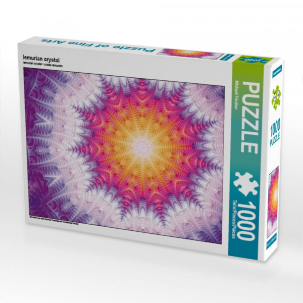 Puzzle lemurian crystal