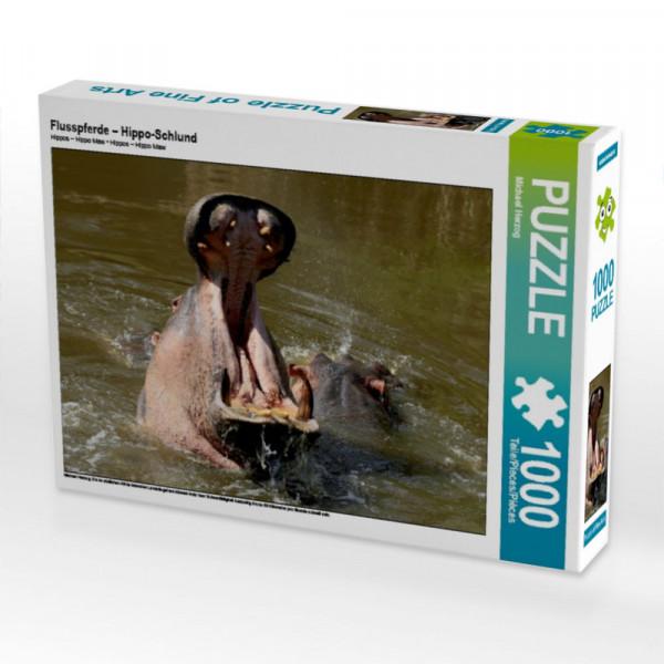 Puzzle Flusspferde – Hippo-Schlund