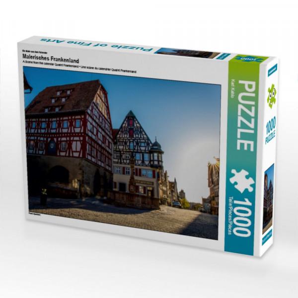 Puzzle Malerisches Frankenland