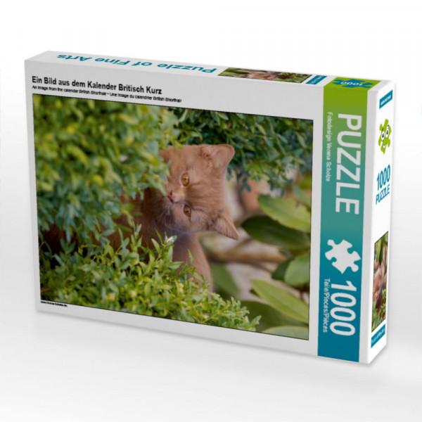 Puzzle Ein Bild aus dem Kalender Britisch Kurz