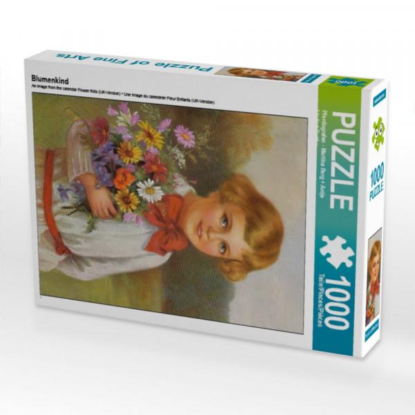 Puzzle Blumenkind