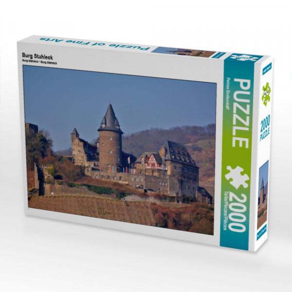 Puzzle Burg Stahleck Foto-Puzzle Bild von Bodenstaff Petrus